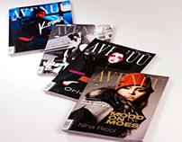 "Design for fashion magazine ""Avenüü"", Kalev Meedia"