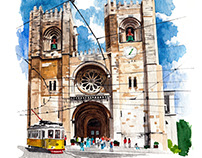 Illustrations - The Monocle Travel Guide for Lisbon