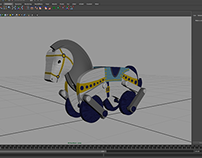 Pull Toy - Progress/Texturing