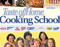 Taste of Home: Cooking School Poster