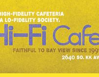 Hi-Fi Cafe Poster & Cup Sleeve