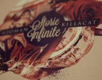 "Gioman & Killacat ""Storie Infinite"" (Cd Cover)"