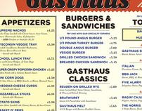 Gasthaus Menu