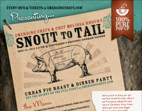 Snout to Tail - Event Branding