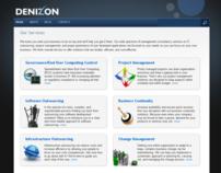 Denizon website