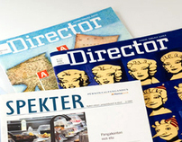 "Art Direction, magazines published by ""Director"""