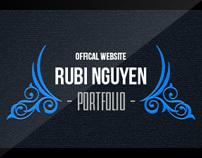 Rubi Nguyen's Portfolio Website Ver 1 - 2012