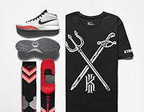 KYRIE IRVING tee shirt design - NIKE Basketball