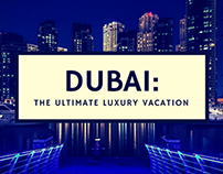 The Ultimate Luxury Vacation is in Dubai