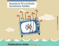 """#TTT05 """"Quando la Tv e la Radio incontrano Twitter"""""""