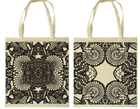 Screen Printed Canvas Bags