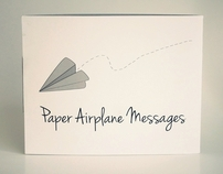 Paper Airplane Messages