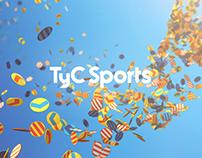 TyC Sports Branding 2014