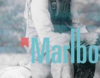 Marlboro rebrand concept .