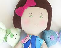 OLIVIA & teddy | Designer doll  [soft toys]