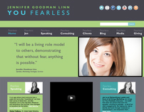 Jennifer Goodman Linn Brand Identity and Website