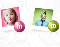 "M&M MARS ""Faces"" Integrated Brand Campaign"
