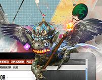 AD - Zupi Portal / Ipad