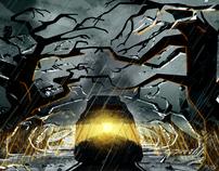 Spooky Train Ride