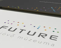 """Museum of the future"" branding"