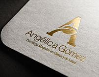 Angélica Gómez - Logo