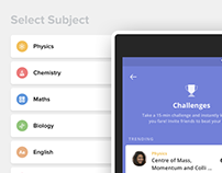 Redoing 'Challenges' on Toppr