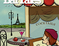 Bartales Web Magazine (April 2014) | Cover Design
