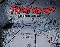 Proposta de Redesign - Capa do Livro Friday the 13th
