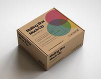 Mailing   Shipping Box Mock-Up