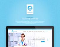 Website design for skincare center | UI | Landing page
