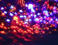 Full of lanterns and beautiful lights.