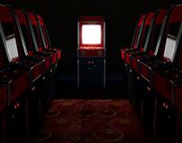 Vintage Game Room CGI