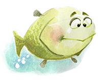 Fish...bubbles