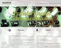 Estudios Magnum | Website