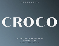 Croco - Font Family (Free Download)