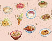 台南好食在|視覺傳達導論期中作業