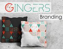 Marketing Company Gingers - Brand Identity
