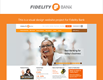 Visual Design Project For Fidelity Bank
