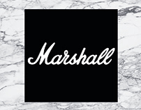 Afiches Marshall