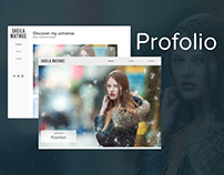Profolio | Adobe Muse Template