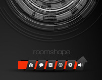 Roomshape / Interface website