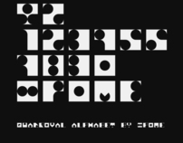 quadroval alphabet