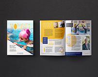 School Magazine Design