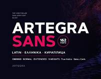Artegra Sans - 162 Fonts Superfamily