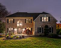 Night Real Estate Photography at Fort Washington, PA