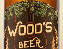 Rótulos Wood's Beer