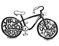 Bike Tattoo Sketch