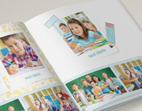 A set of photobooks designs