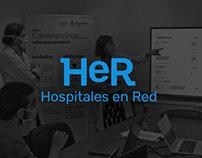 Hospitales en red - UX/UI design