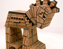 Paper Toy Trojan Horses